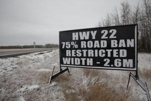 Edmonton Road Construction Signs