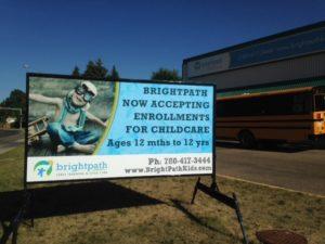 Portable Road Side Signs Edmonton