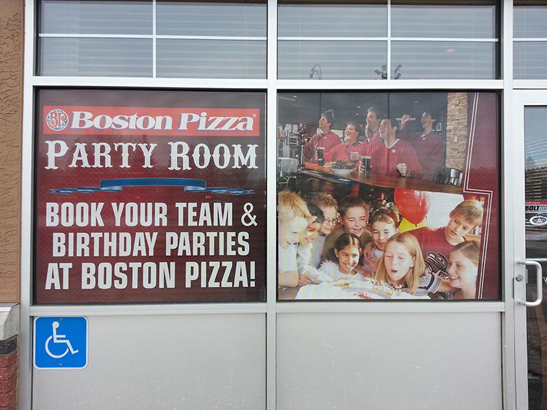 Edmonton Window Signs