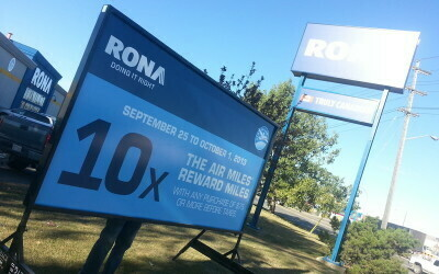 Edmonton Portable Signs Rona