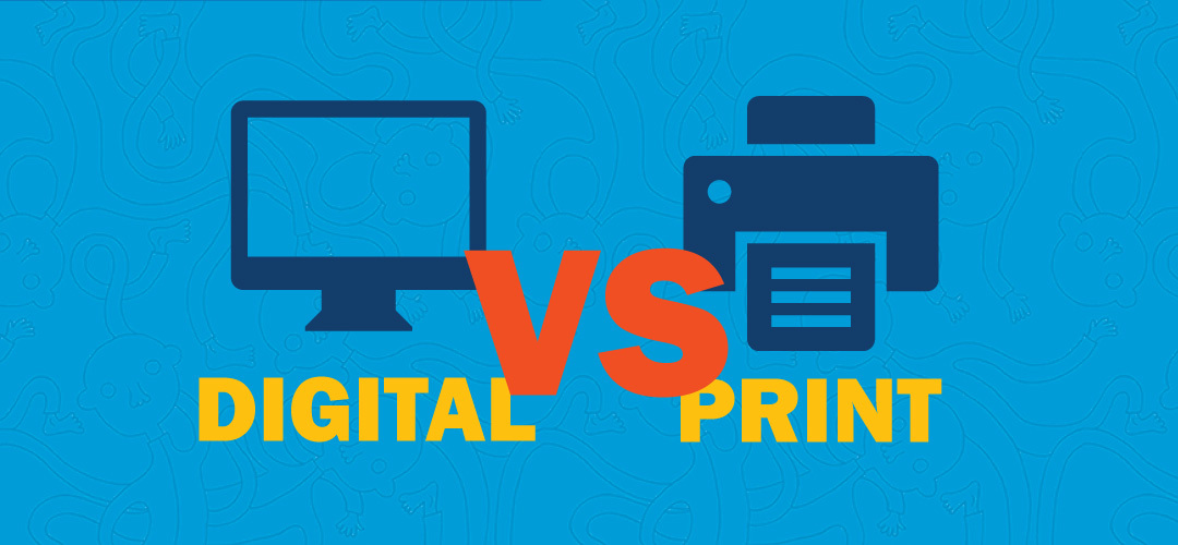 Digital vs Print Advertising