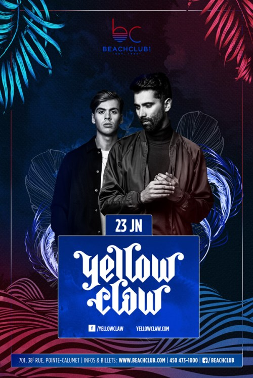 Yellow Claw BC