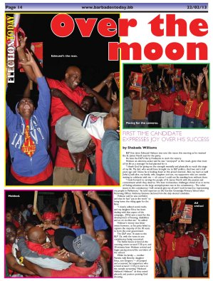 Over the moon - 2013-02-22 Barbados Today Page 14