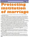Protecting institution of marriage - 2013-06-26 Barbados Today - Page 13