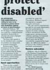 Bring law to protect disabled - 2015-03-05 - Daily Nation - Page 17