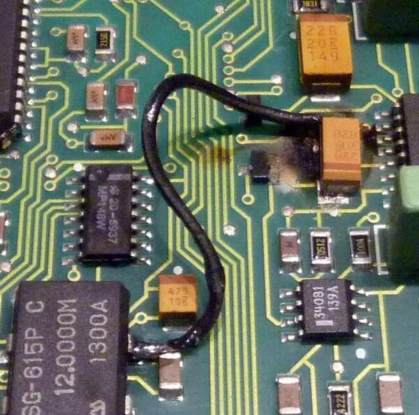 修復:HP 34401A電容故障 - 電子技術設計