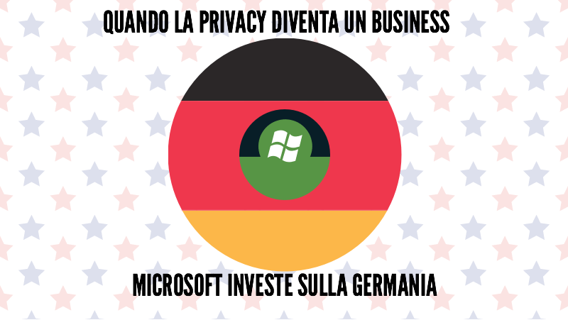 Quando la privacy diventa un business: Microsoft investe sulla Germania