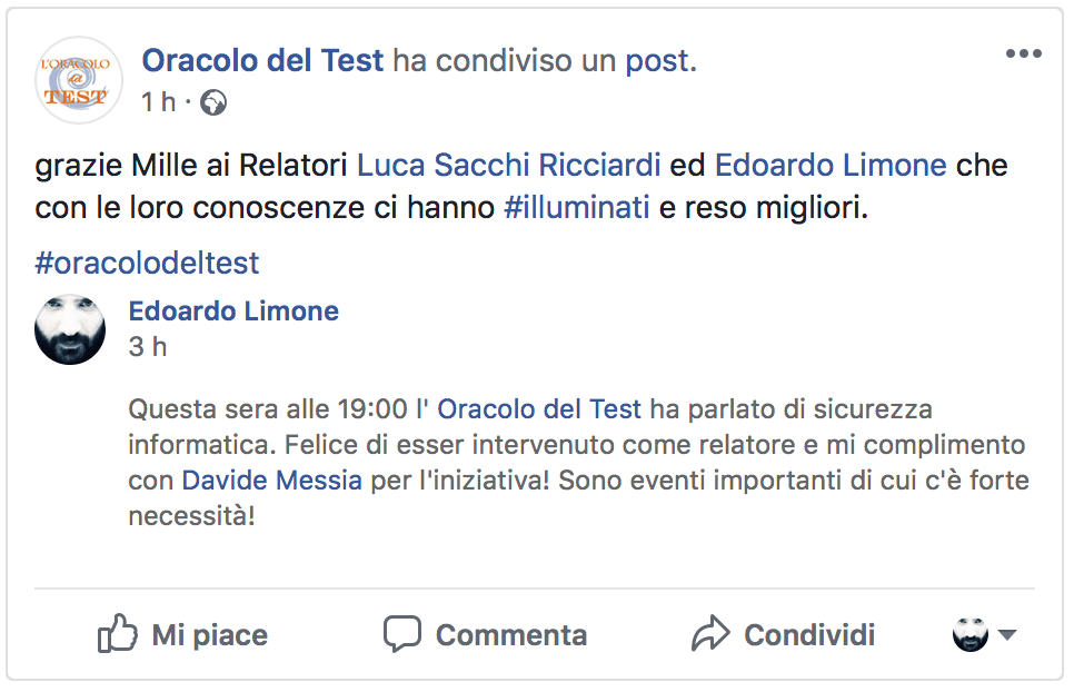 Oracolo Del Test