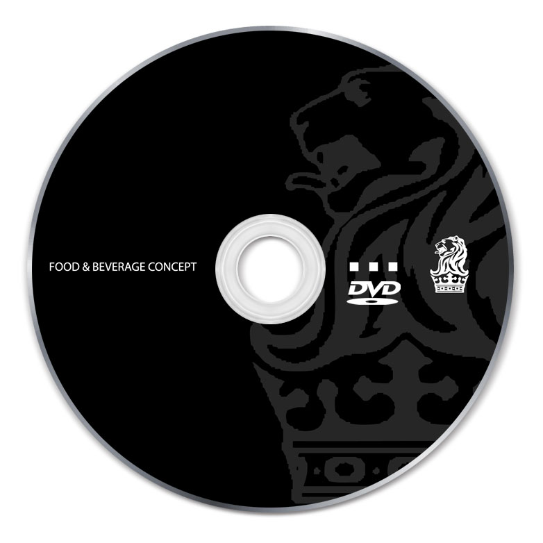 2 Color DVD-R Silk Screen