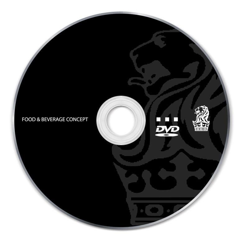 2 Color DVD-R Silk Screen