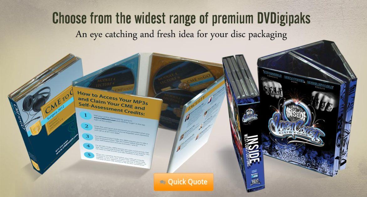 The Ultimate in DVD Set Packaging, 8 Panel DvDigipak