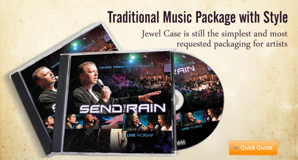 P3-2, Jewel Case is still the simplest and most affordable Music packaging option