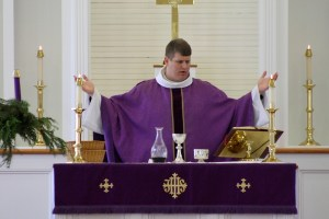 Photographs: The Rev. Ashley Freeman Celebrates His First Holy Eucharist at St. Patrick's