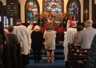 Photographs: Installation of the Rev. Chris Capaldo