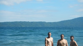 Bryan, Me & Chris at the crater lake