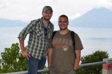 Chris & me at Lake Atitlan