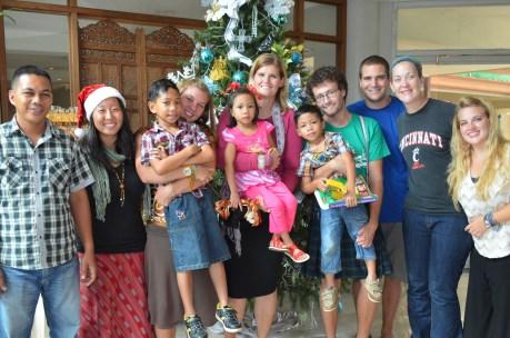 Team TUMBLER and Pastor Jojo and his family on Christmas