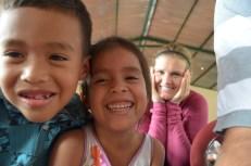 Cute kids at church