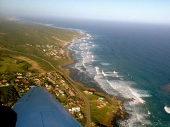 Picture from the airplane I got to fly!