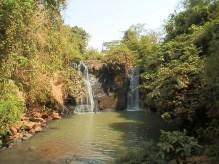 First Cambodian Waterfall