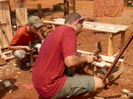 Building a Desk with Chris