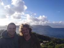 Me & Travis at Table Mountain