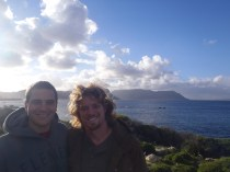 Me & Travis at Table Mountain
