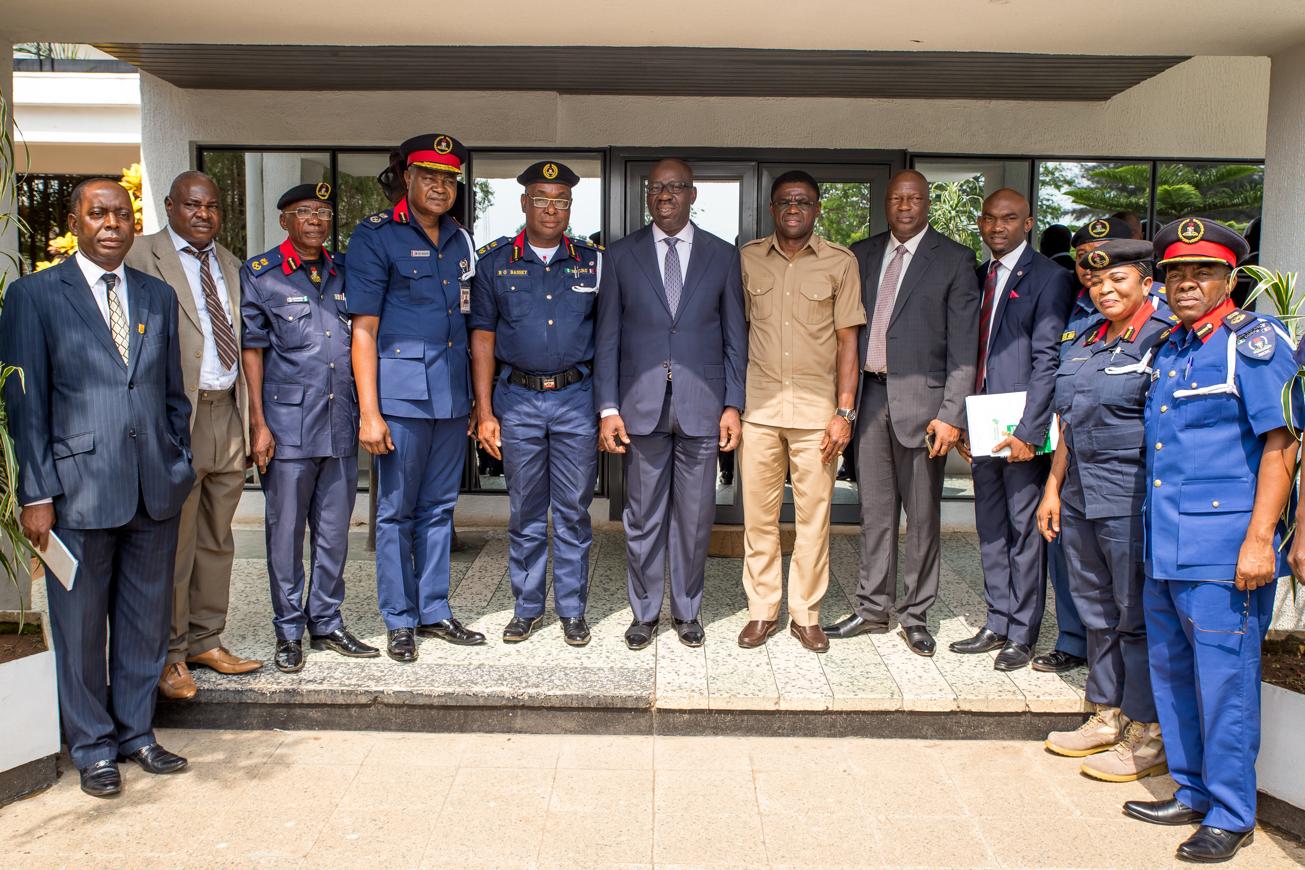 Gov. Obaseki hails NSCDC over protection against pipelines vandalism