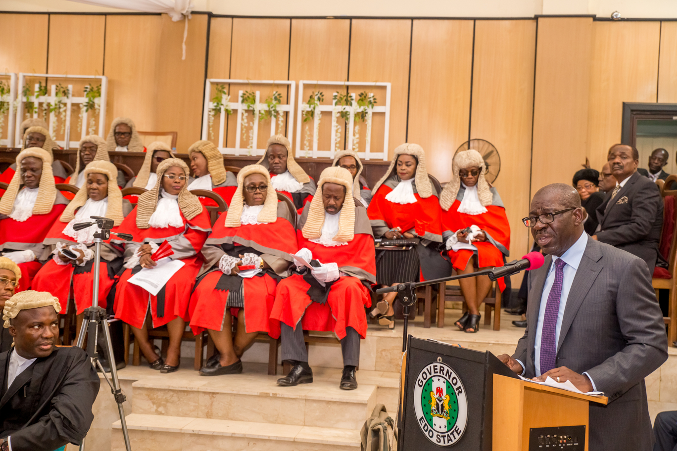 Obaseki increases judiciary's capital expenditure