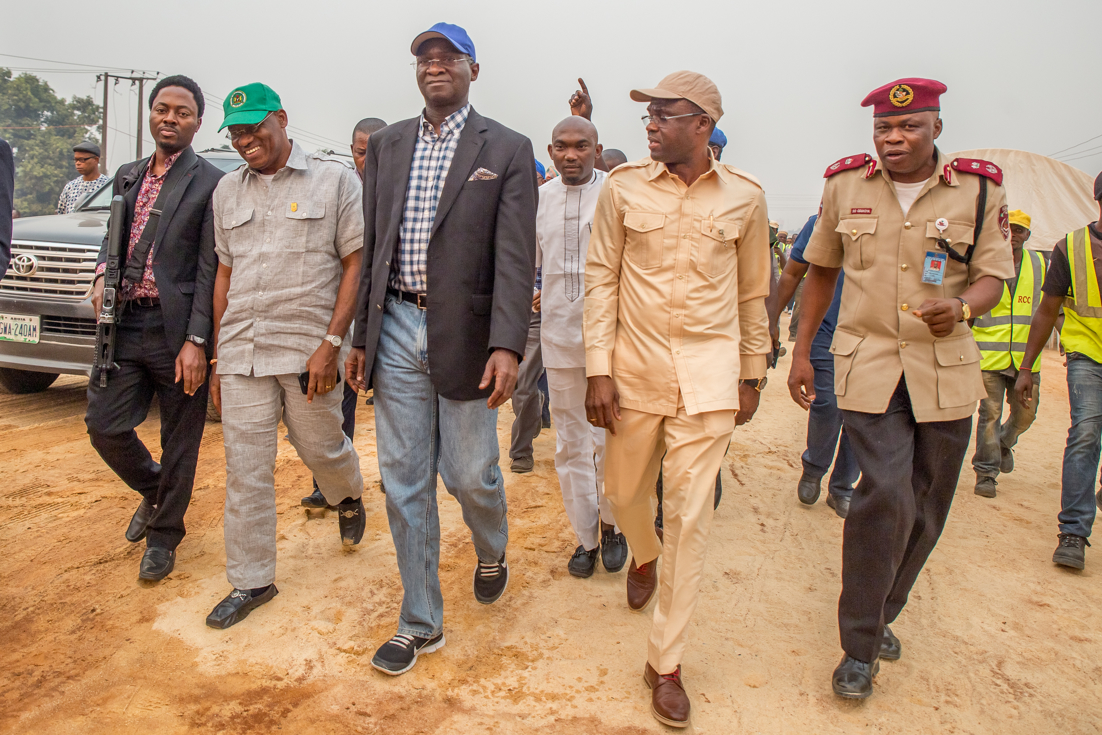 Obaseki commends Fashola for Edo roads, housing