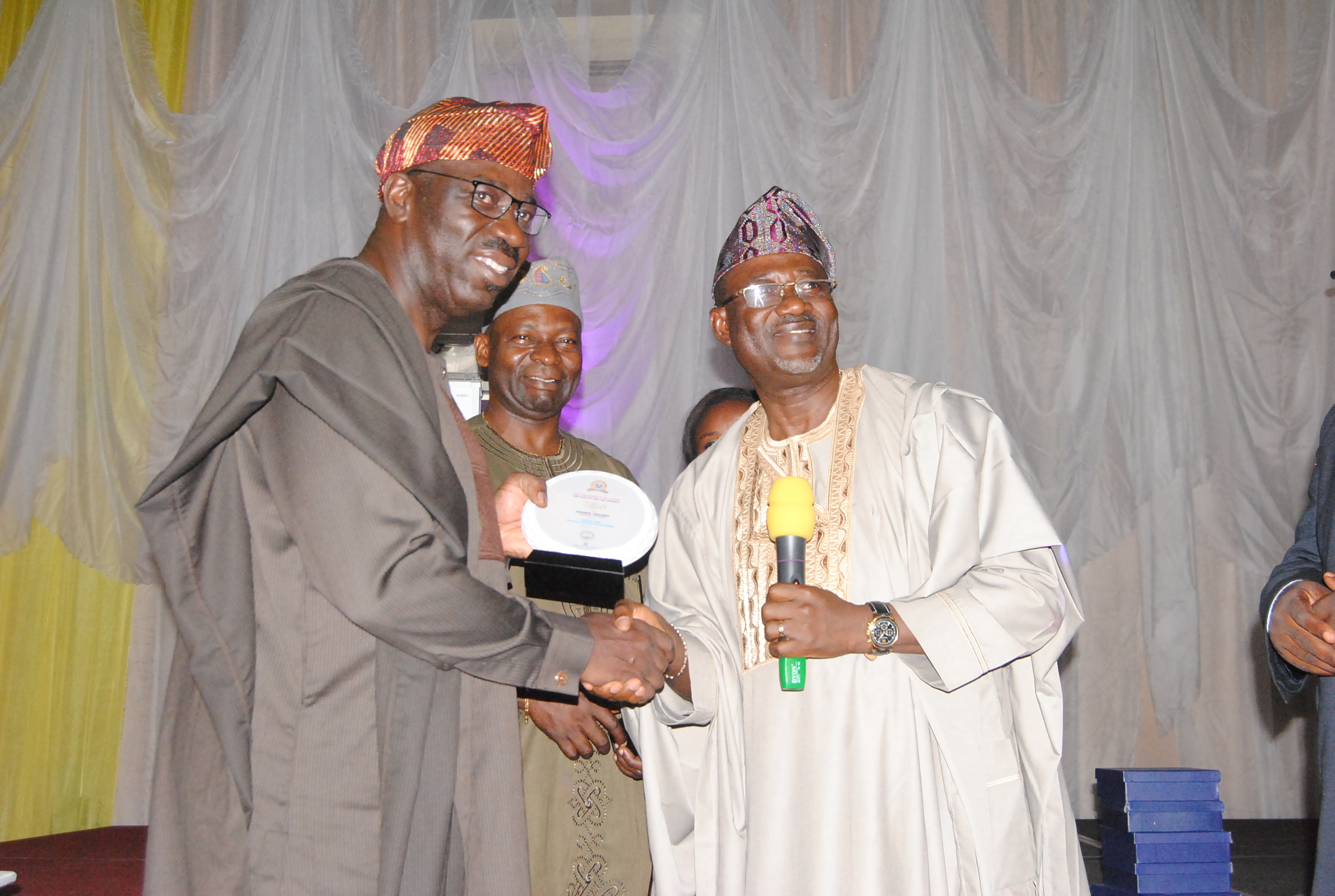 Obaseki, Oshiomhole, Osunbor receive awards