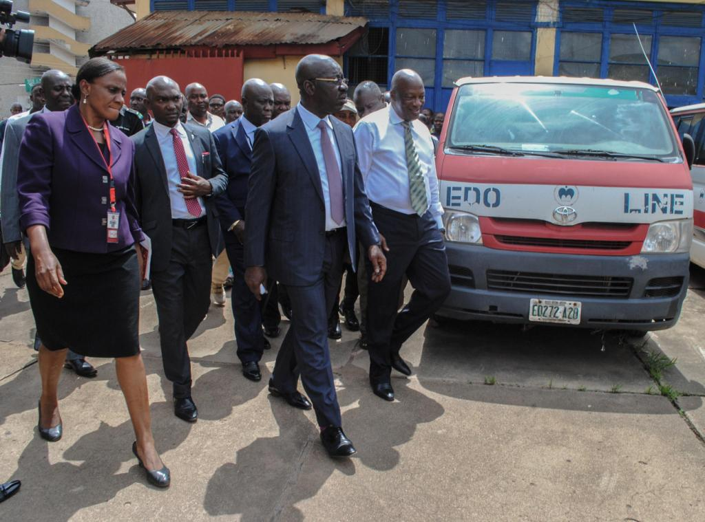 Obaseki shuts down Edo Line, relocates staff to ministry of transport