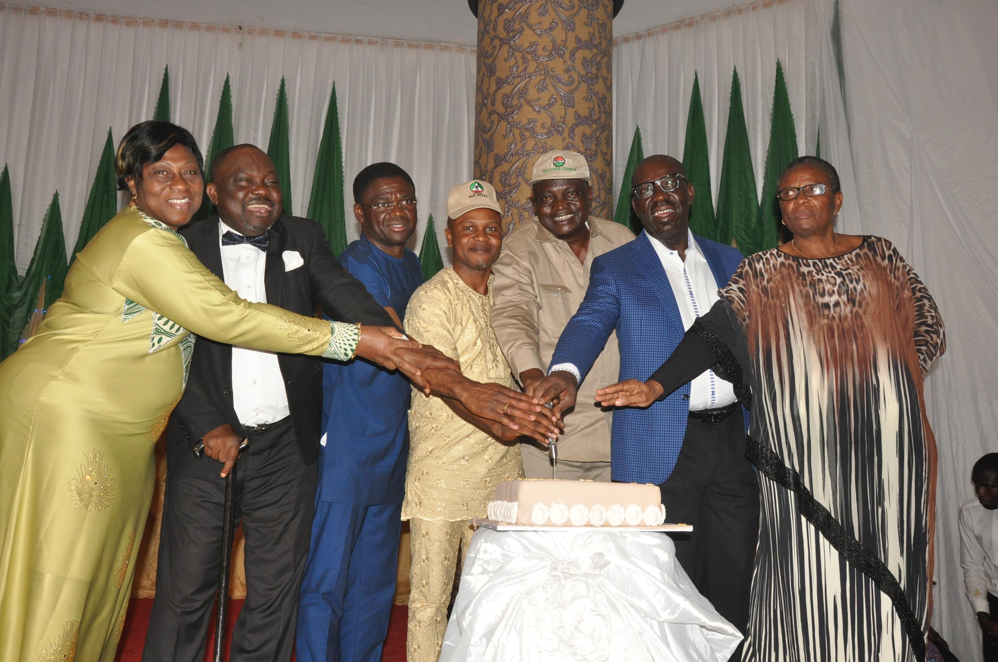 Edo NLC, TUC award Osunbor, Odubu, Ihonvbere