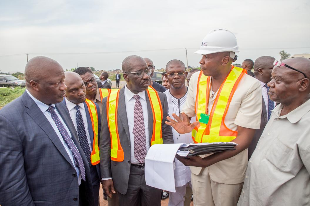 Obaseki visits proposed 'ultramodern' market site