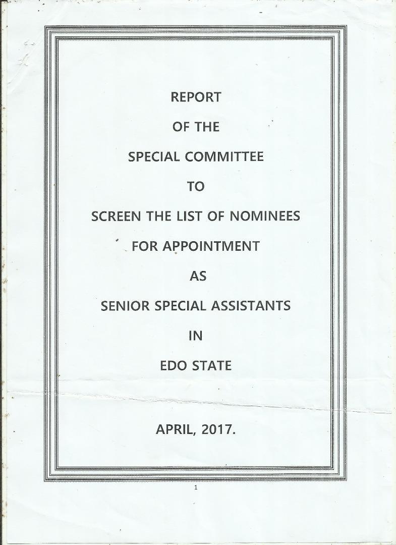 Obaseki appoints Senior Special Assistants