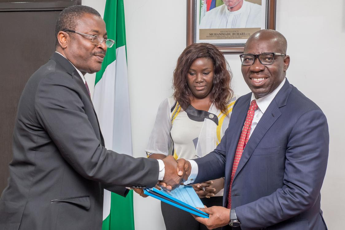 Edo, NIW sign MoU to establish Fabrication Village