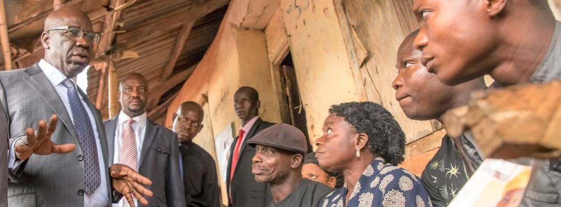 Herdsmen attack: Obaseki visits Ewu, vows to end terror attacks