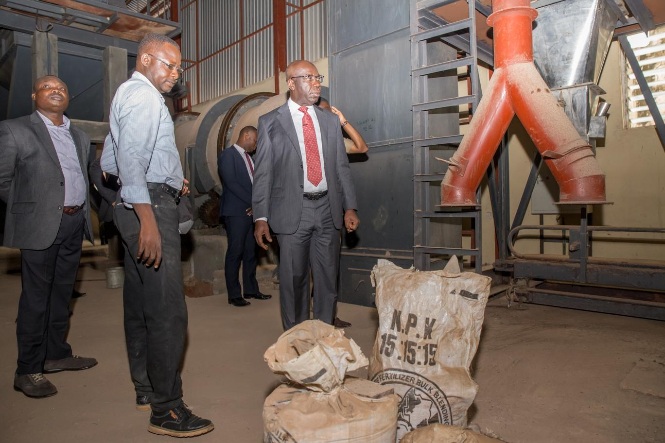 Vice President Osibanjo to Commission Edo Fertilizer Plant managed by WACOT