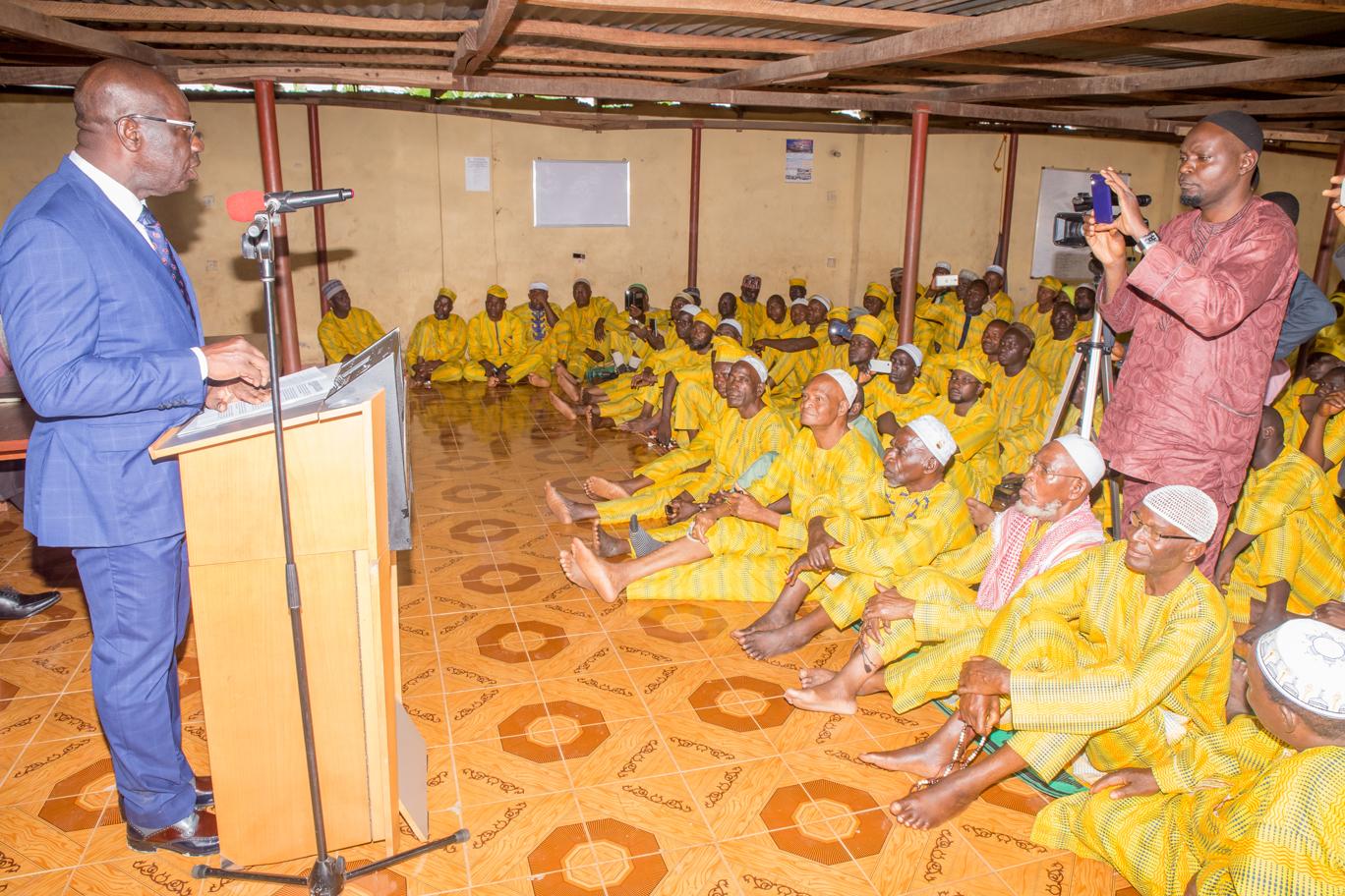 Hajj: Obaseki charges Edo Pilgrims to be good ambassadors