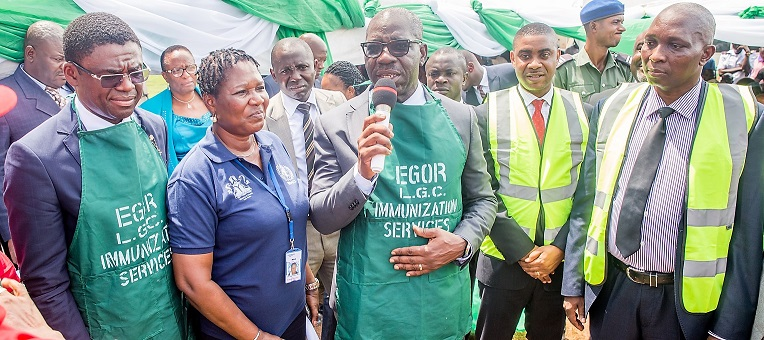 Edo tops Nigeria's routine immunisation coverage chart – WHO