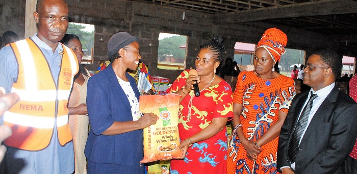 Association donates items worth N20m to Edo IDP Camp