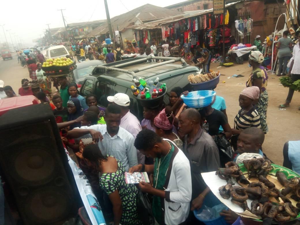 Anti-human trafficking: Group takes campaign to markets in Benin Metropolis