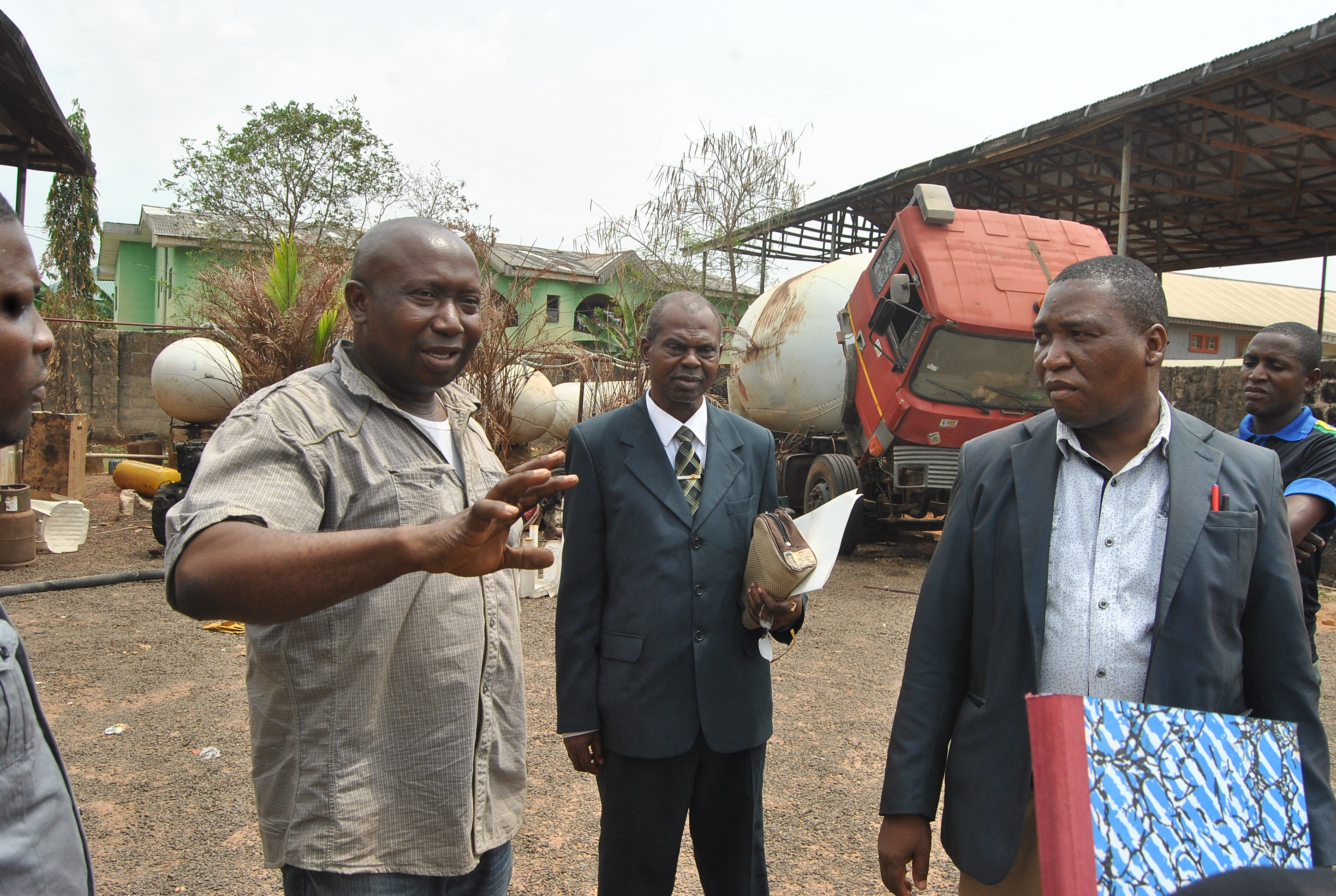Ugbor Gas explosion: Panel visits scene of incident, hospitalised victim