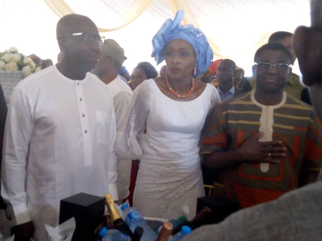 Obaseki extols virtues of late Engr. Bright Uwagboe Omo
