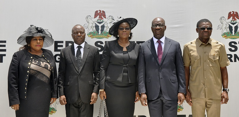 Obaseki swears-in two Edo High Court justices