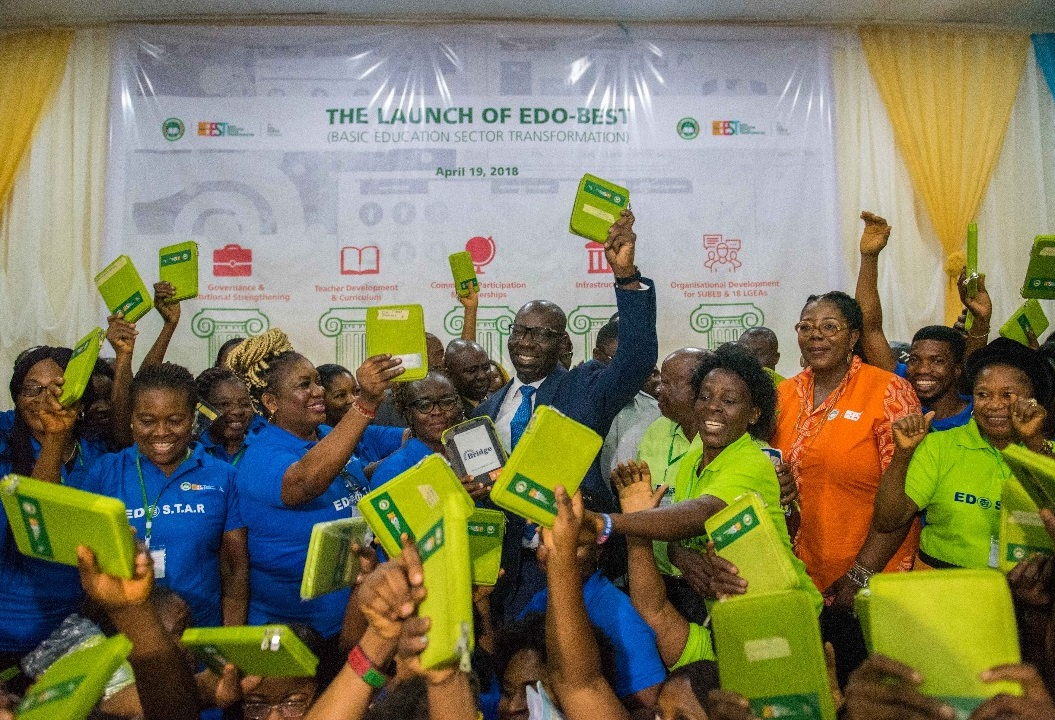 Over 1, 500 teachers complete training on tech-based teaching as Obaseki launches Edo-BEST  …Education marshalls to stem loitering by students