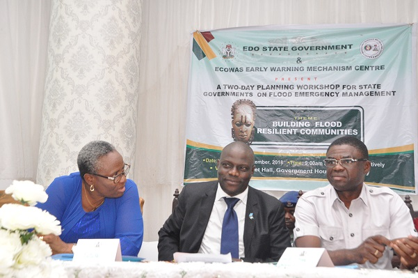 Flooding: Edo, ECOWAS re-strategise on disaster management, as Obaseki charges councils on sensitisation