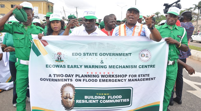 Flooding: Edo Govt distributes relief materials to victims