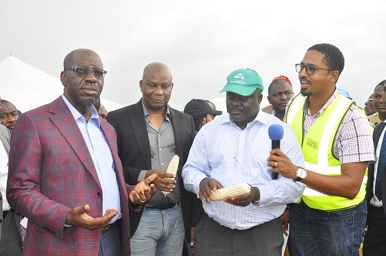 Obaseki partners NIRSAL on agribusiness devt, to unveil 21 farmers' cooperatives