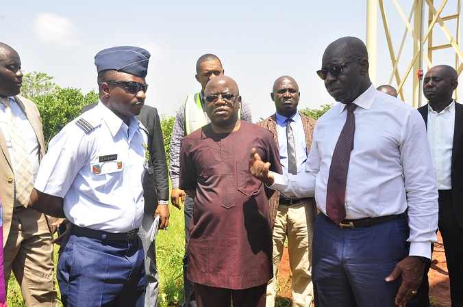 Obaseki flays theft of airport facilities, orders investigation